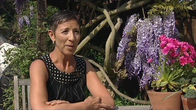 Angela Walker, ovarian cancer patient