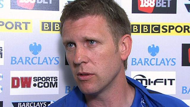 Everton assistant Steve Round