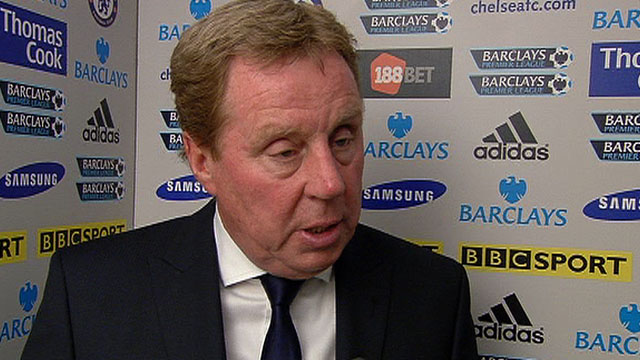 Tottenahm Hotspur manager Harry Redknapp