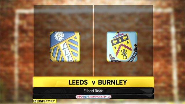 Leeds 1-0 Burnley