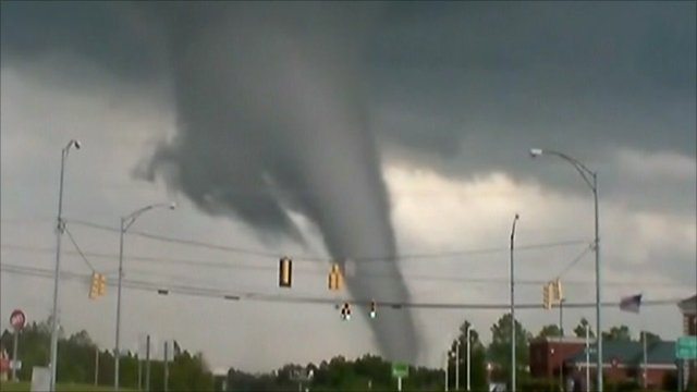 Tornado in Alabama