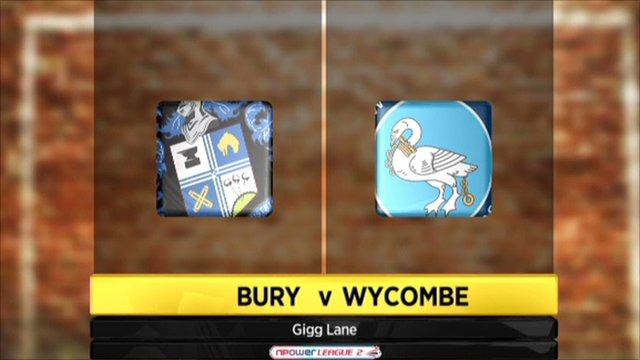 Bury v Wycombe
