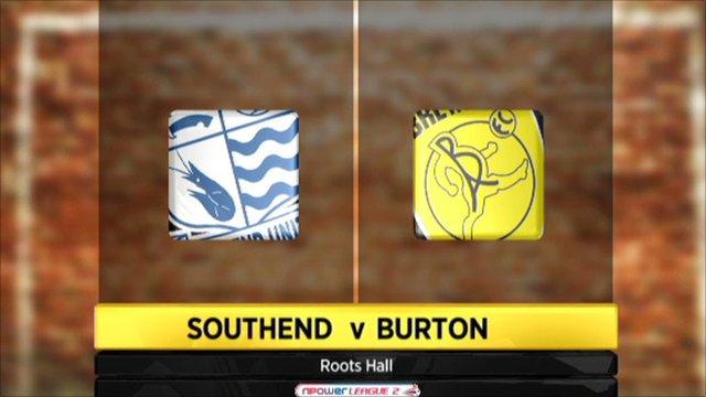 Southend v Burton