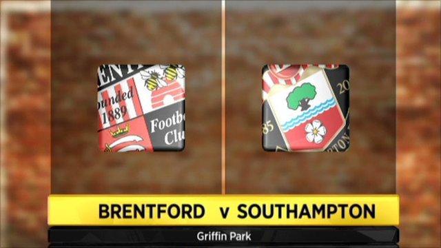 Brentford v Southampton
