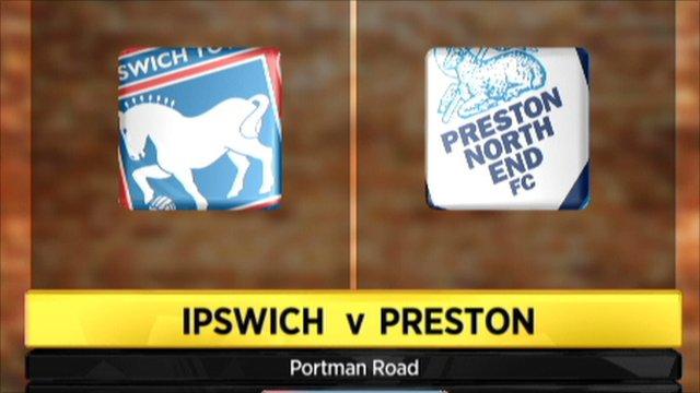Highlights: Ipswich 2-1 Preston