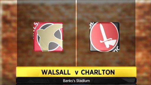 Walsall v Charlton