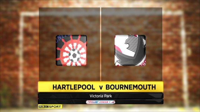 Hartlepool 2-2 Bournemouth