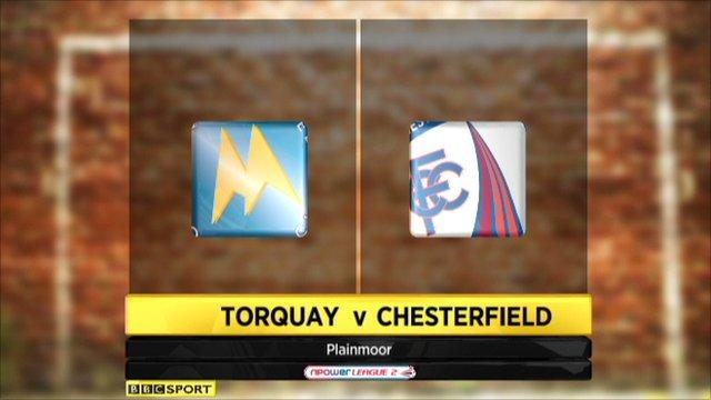 Torquay 0-0 Chesterfield