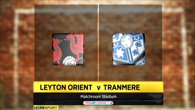 Highlights - Leyton Orient 0-3 Tranmere