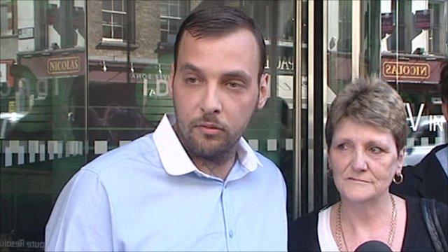 Ian Tomlinson's family