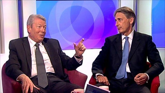 Alan Johnson and Philip Hammond