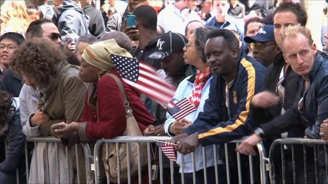 Resident on New York City gathering near Ground Zero