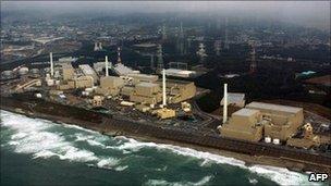 File image of the Hamaoka plant in Shizuoka prefecture