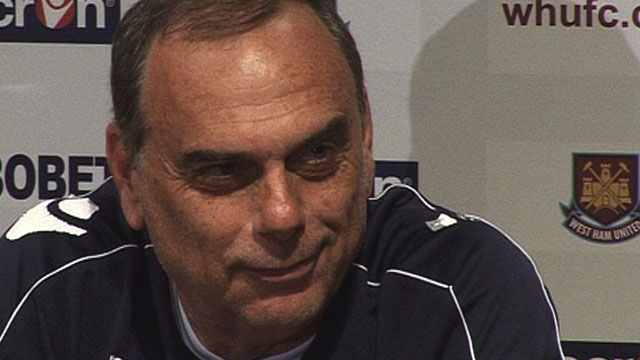 West Ham United manager Avram Grant
