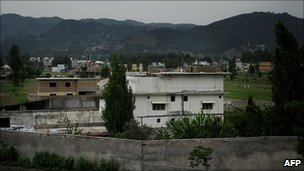 Compound in which Osama Bin Laden was killed, Abbottabad, Pakistan, 5 May 2011