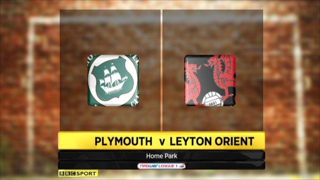 Plymouth 1-4 Leyton Orient
