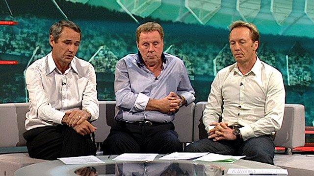 Alan Hansen, Harry Redknapp and Lee Dixon