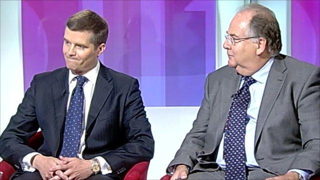 Mark Harper and Lord Falconer