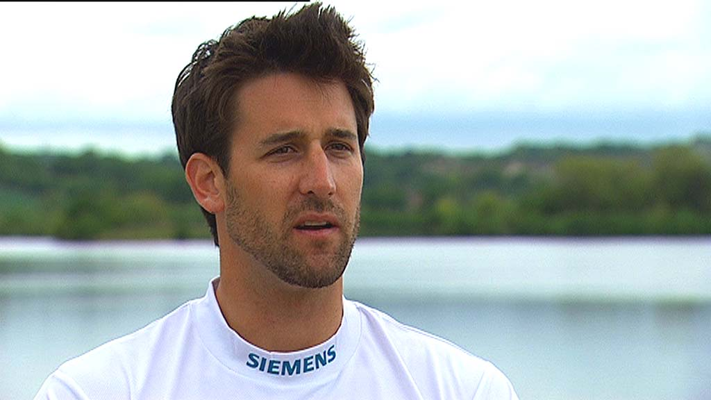 Great Britain rower Tom James