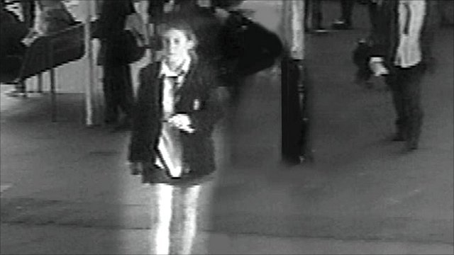 CCTV footage showing the last movements of the Surrey schoolgirl Milly Dowler