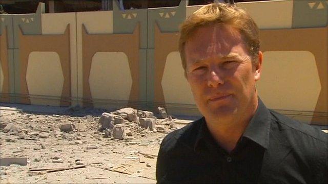The BBC's Christian Fraser
