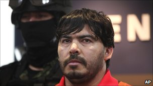 BBC News - Mexico: 'Sinaloa cartel head' Martin Beltran held