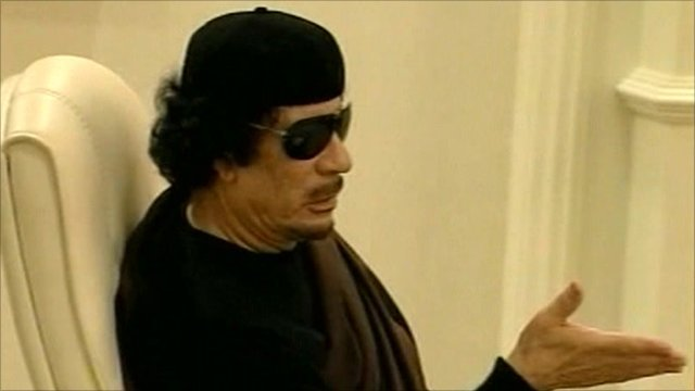 Colonel Gaddaffi
