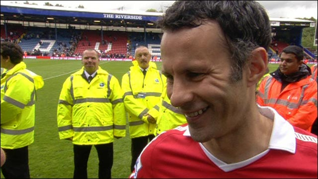 Manchester United deserved to win title - Ryan Giggs