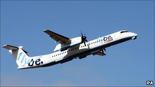 Flybe aircraft