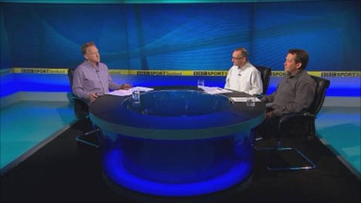 Rob Maclean, Pat Nevin and Billy Dodds