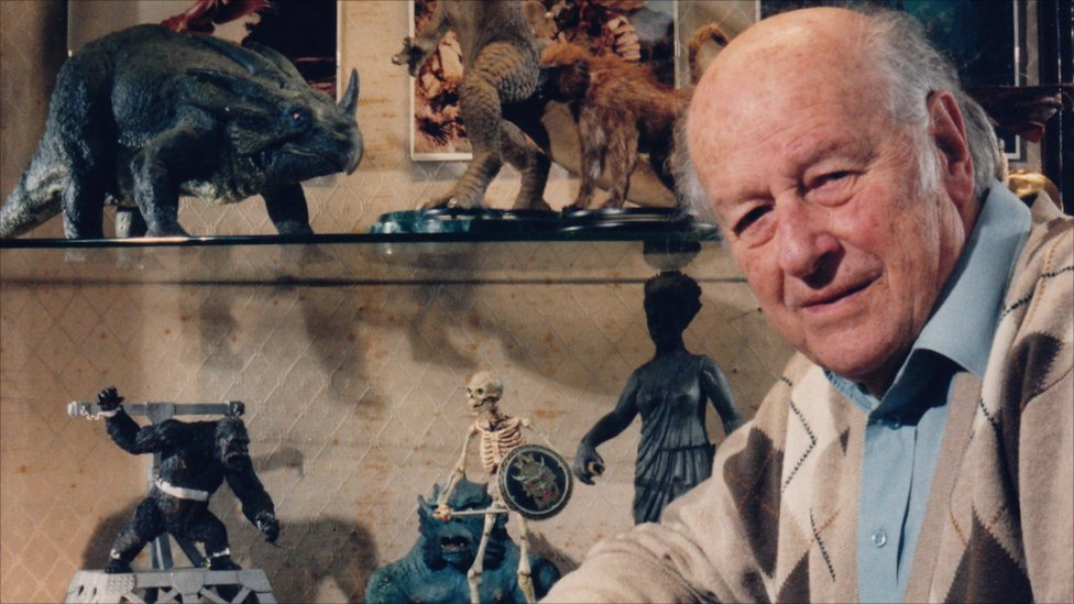 BBC News - In pictures: Ray Harryhausen models shown in ...