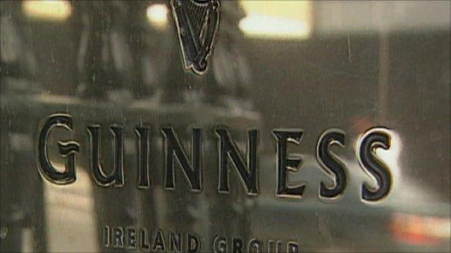 Guinness plaque