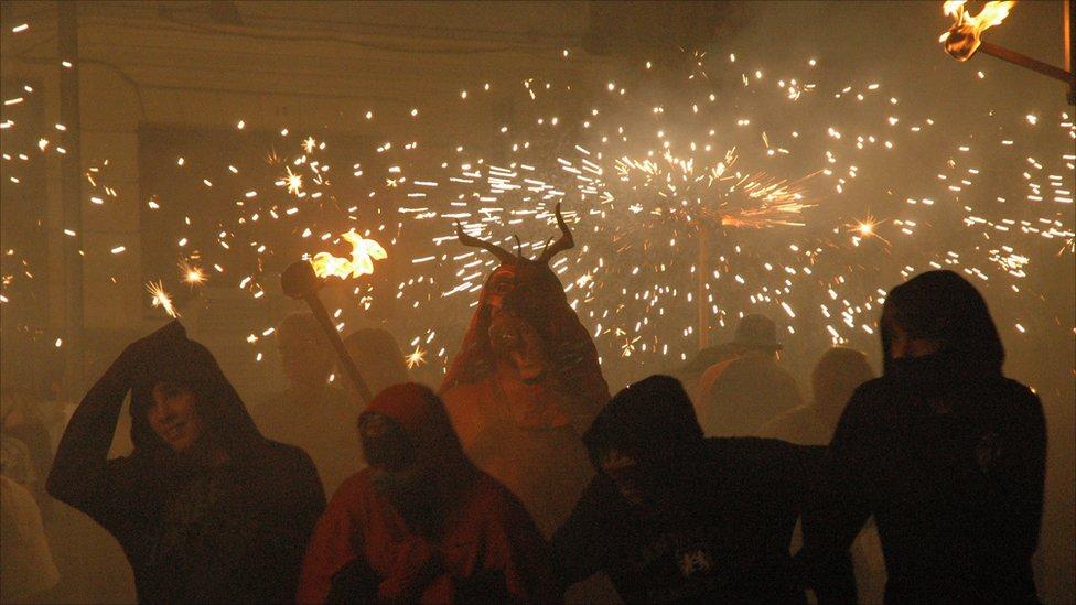Festival in Spain