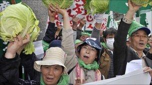 Anti-nuke protest