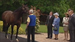 Horse Lover Queen Elizabeth