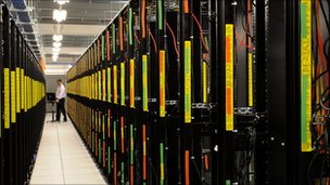 Rackspace data centre