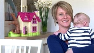 Kellie Lombard, the British woman who now has three children thanks to a Danish sperm donor