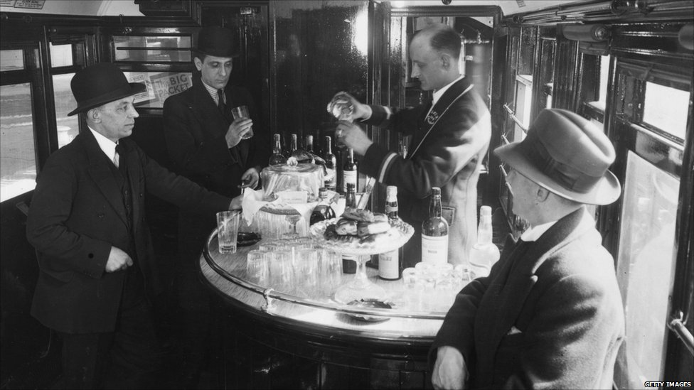BBC News - In pictures: End of the line for railway restaurant