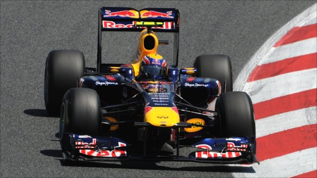Red Bull's Mark Webber