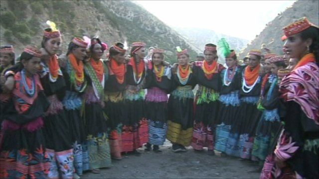 Kalash valley women