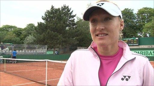 British tennis number one Eleana Baltacha
