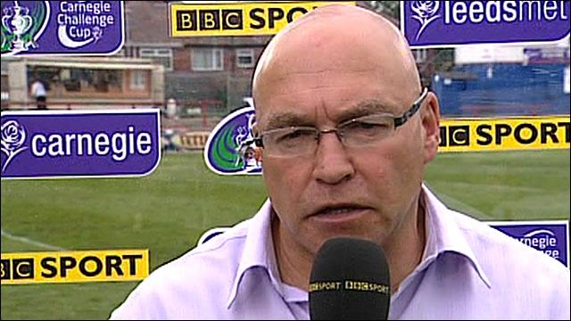 Wakefield Wildcats coach John Kear