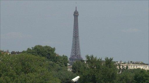 Paris landmark, The Eiffel Tower