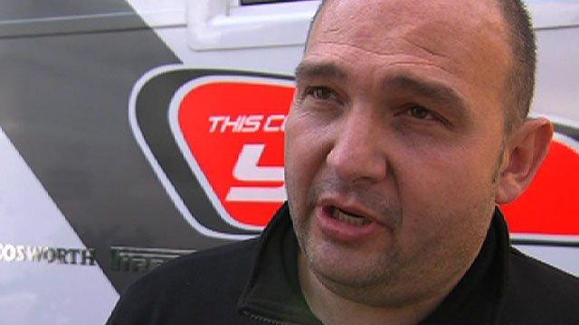 Hispania Racing team principal Colin Kolles