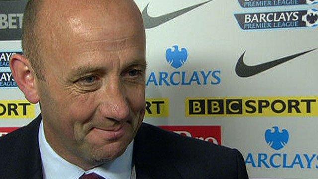 Aston Villa assistant manager Gary McAllister