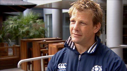 Scotland Rugby Sevens coach Graham Shiel