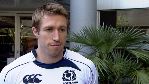 Scotland full-back Jim Thompson