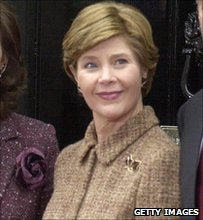 Laura Bush in 2003