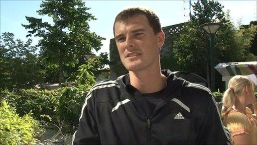 British tennis player Jamie Murray