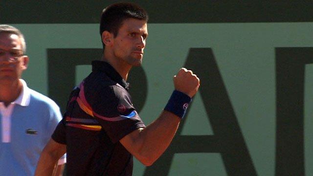 World number two Novak Djokovic